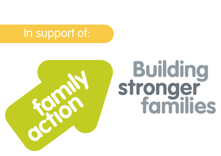 Proudly donating 10% of all 2020 sales to Family Action