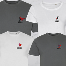 Load image into Gallery viewer, Hero & Sidekick Family T-Shirts