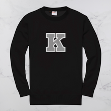 Load image into Gallery viewer, Varsity Family Sweater - Single Initial
