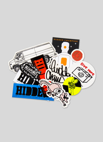 HIDDEN CHAMPION-Sticker Bag 2020