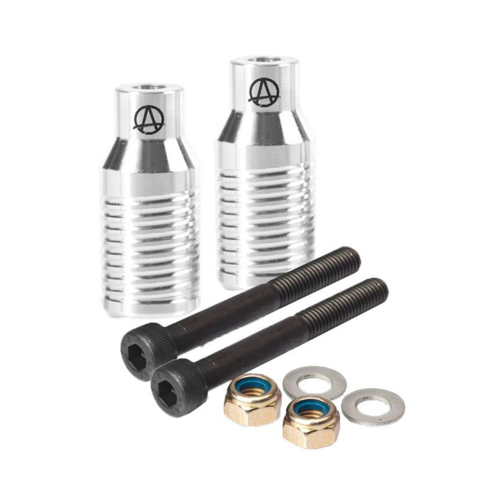 Apex Bowie Grind Stunt Scooter Pegs Pegs Apex Silber