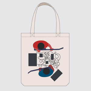 As We Improvise We Disappear (Totebag)