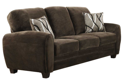 Homelegance Rubin Sofa in Chocolate 9734CH-3 image