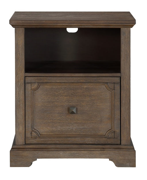 Homelegance Toulon File Cabinet in Wire-Brushed 5438-18 image
