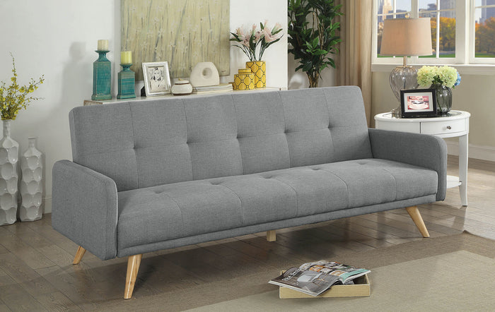 Burgos Gray/Natural Futon Sofa image