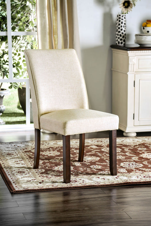 Cimma Espresso/Ivory Side Chair (2/CTN) image