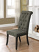 Sania III Antique Black/Gray Side Chair (2/CTN) image