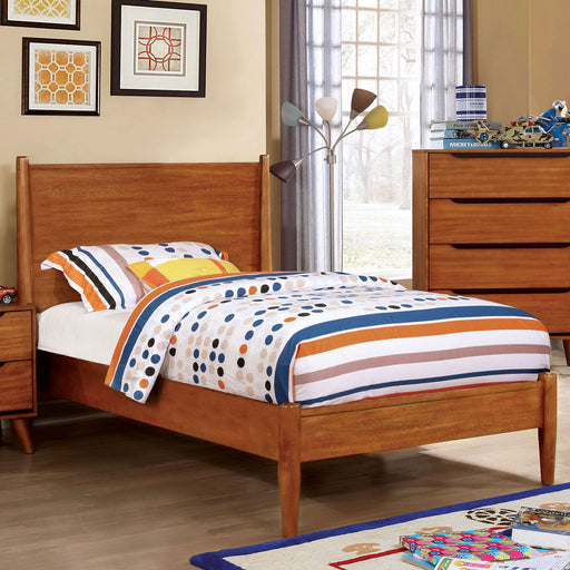 LENNART I Oak Twin Bed image