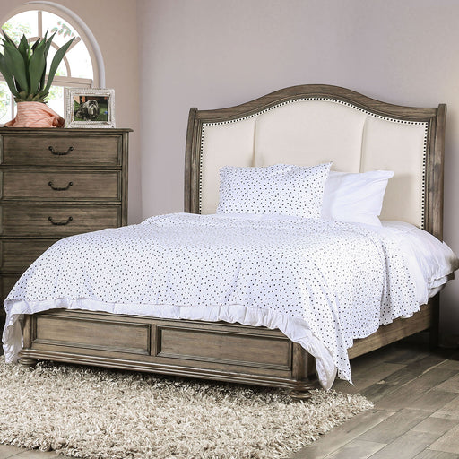 BELGRADE II Rustic Natural Tone/Ivory Cal.King Bed image