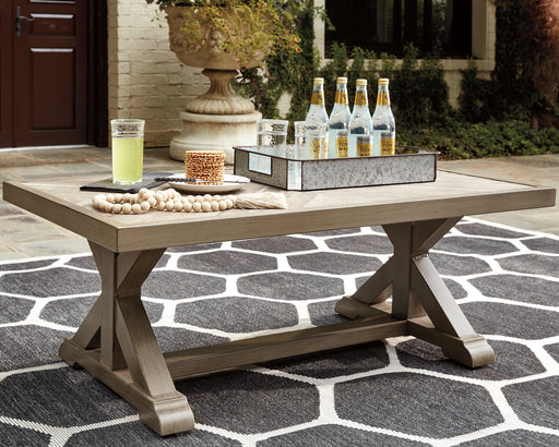 Beachcroft Signature Design by Ashley Rectangular Cocktail Table image