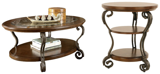 Nestor Signature Design 2-Piece Table Set image