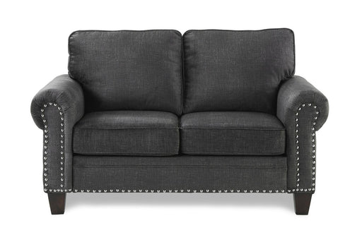 Homelegance Furniture Cornelia Loveseat in Dark Gray 8216DG-2 image