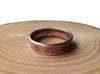 Handmade Irish coin ring 'Eire'