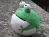 Pure wool felted Frog
