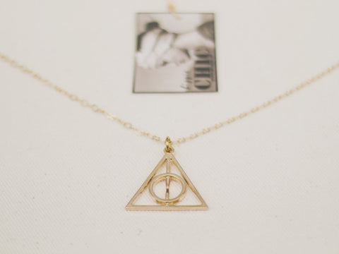DEATHLY HALLOW necklace