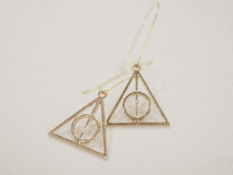DEATHLY HALLOW earrings