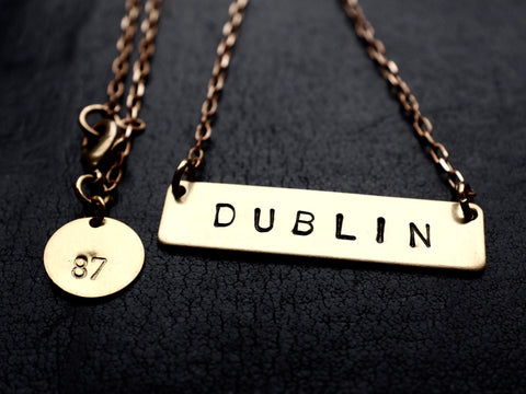 DUBLIN necklace