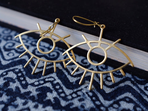 ALL SEEING EYES earrings
