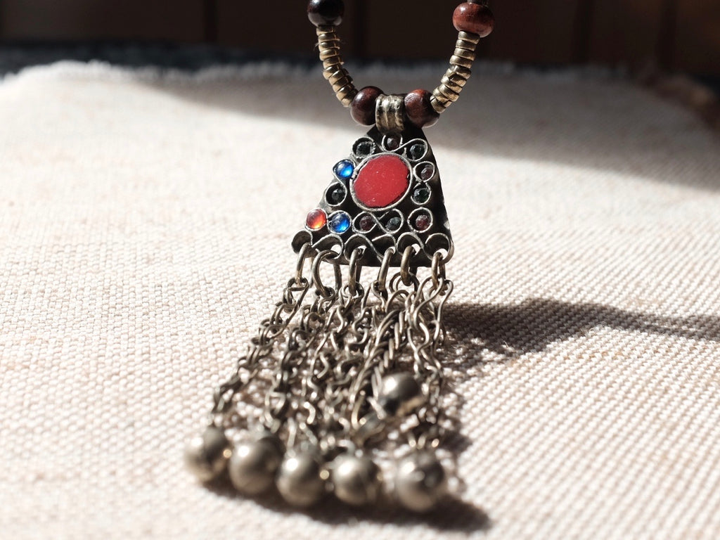 Tribal BELLS necklace