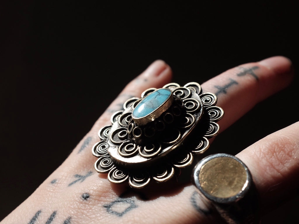 GYPSY RING blue