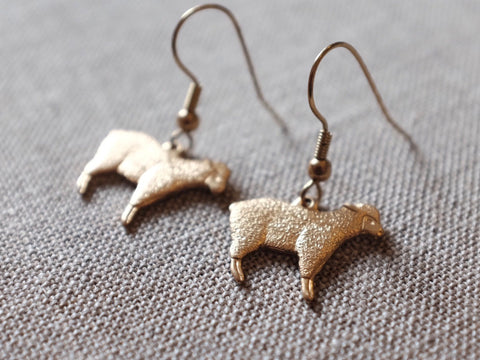 HC SHEEP earrings