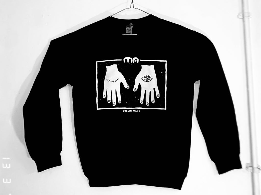 MA black sweatshirt