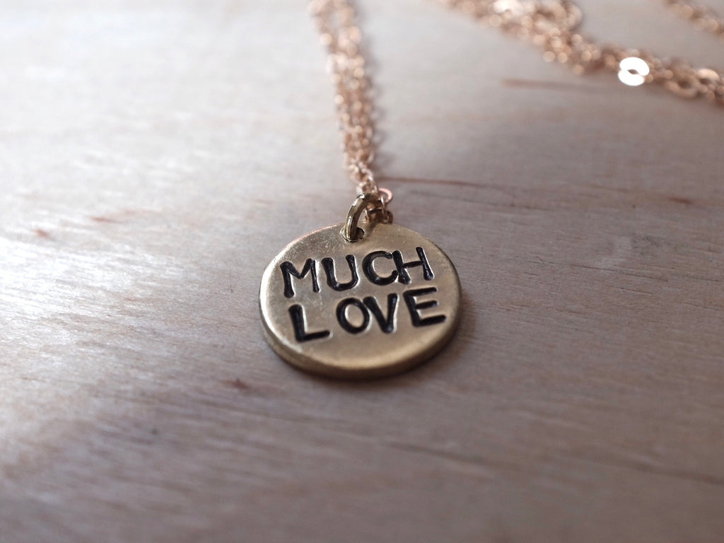 MUCH LOVE necklace