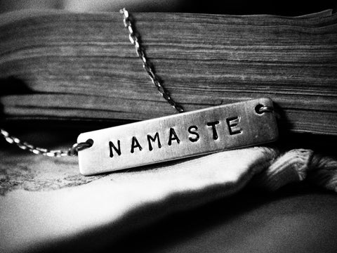 NAMASTE necklace