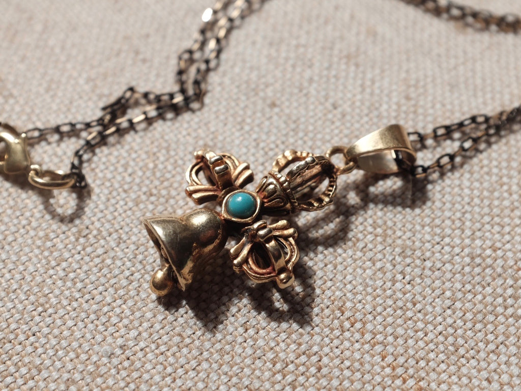 Buddhist BELL necklace