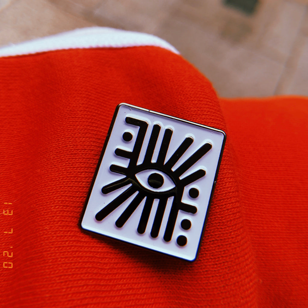 All seeing eye PROTECTION pin