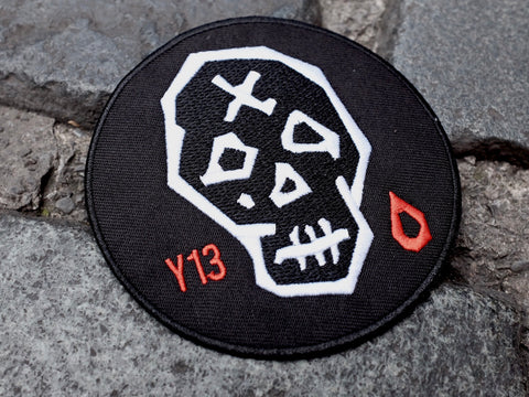 Big YOGIXIII X CA skull13 PATCH