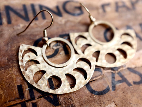 HC MOON earrings