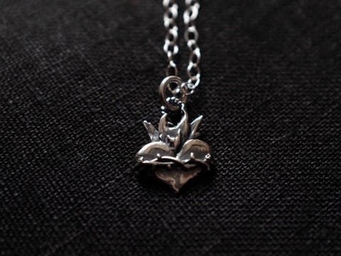Sacred HEART necklace 925'silver