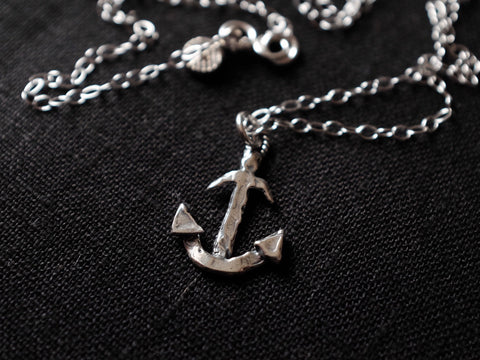 ANCHOR necklace 925'silver