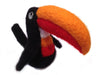 Handmade needle felted Toucan bird - Guinness bird