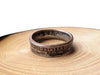 Handmade 'USA quarter' coin ring