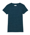 We Bring Back The Music -The Women's V Neck - Dark Heather Denim