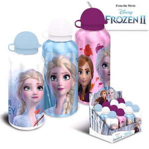 Borraccia Disney Frozen Elsa e Anna metallo - Erregimodabimbo