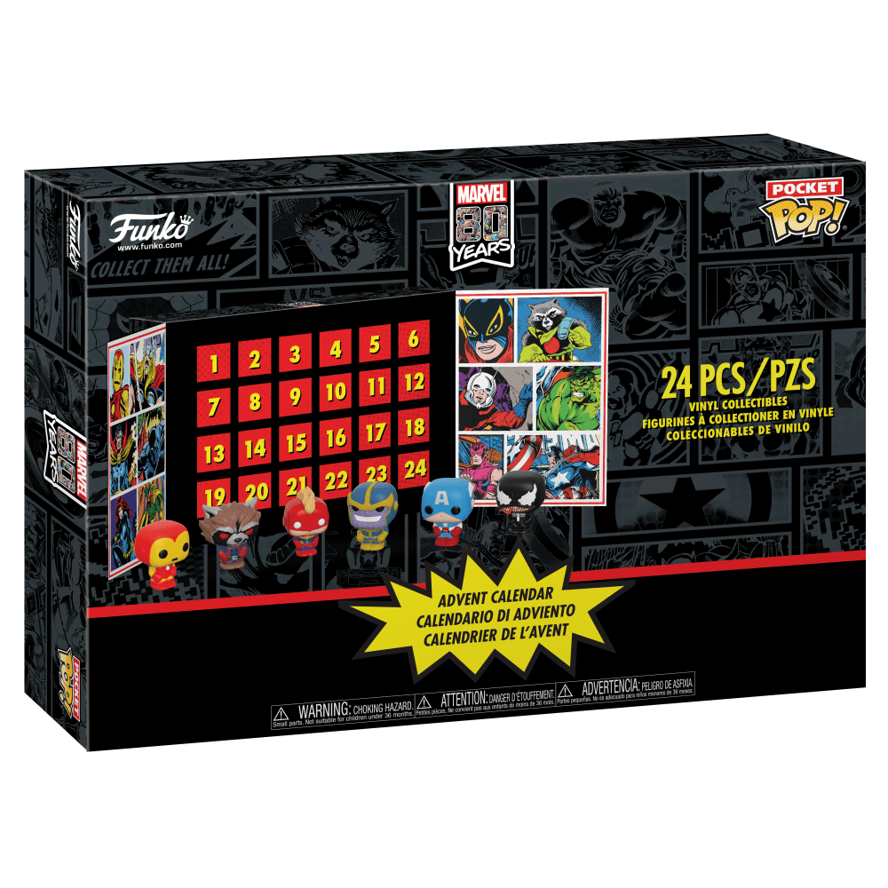 Funko Pocket Pop!: Marvel Advent Calendar [2019]