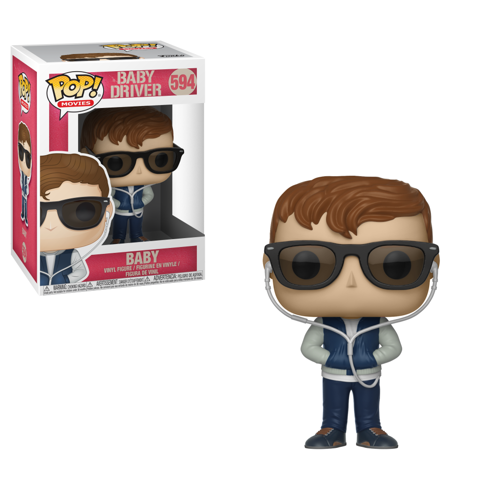 POP! Movies - Baby Driver - Baby w/ Chase