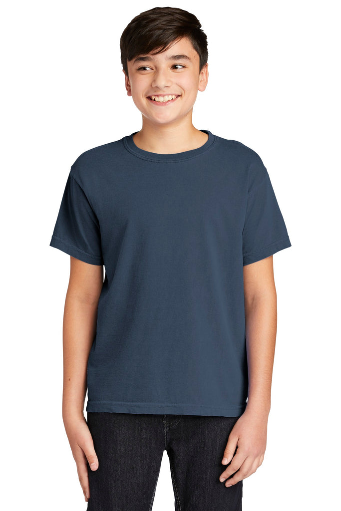 COMFORT COLORS ® Youth Midweight Ring Spun Tee. 9018
