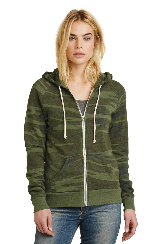 Alternative Women's Adrian Eco™ -Fleece Zip Hoodie. AA9573