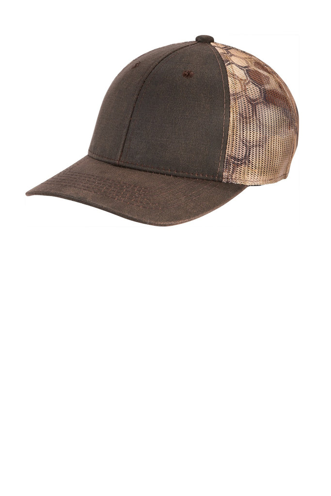 Port Authority ® Pigment Print Camouflage Mesh Back Cap C891