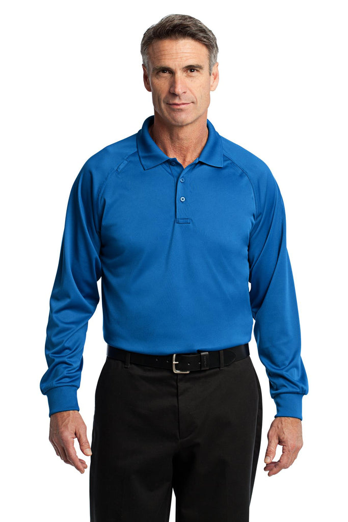 CornerStone® - Select Long Sleeve Snag-Proof Tactical Polo. CS410LS
