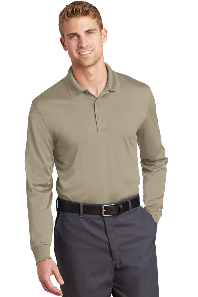CornerStone® Select Snag-Proof Long Sleeve Polo. CS412LS