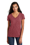 District ® Women's Medal V-Neck Tee. DT664