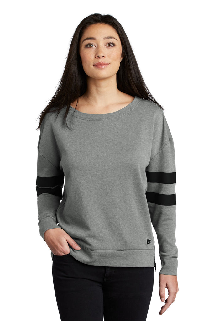 New Era ® Ladies Tri-Blend Fleece Varsity Crew LNEA513