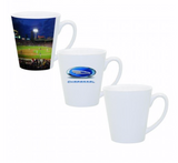 12 oz. Ceramic Sublimation Latte Mug