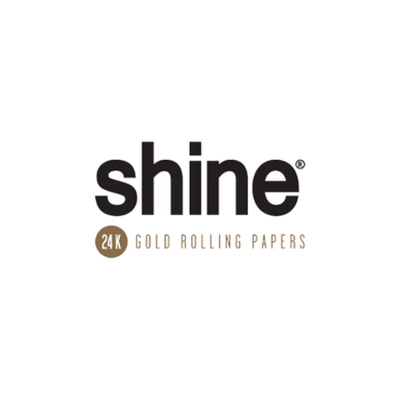 shine 24k gold rolling papers logo