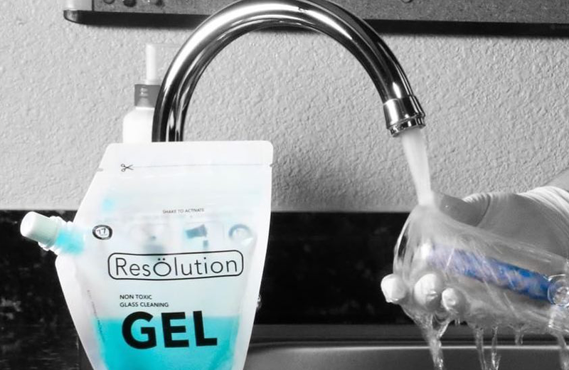 resolution bong cleaning kit